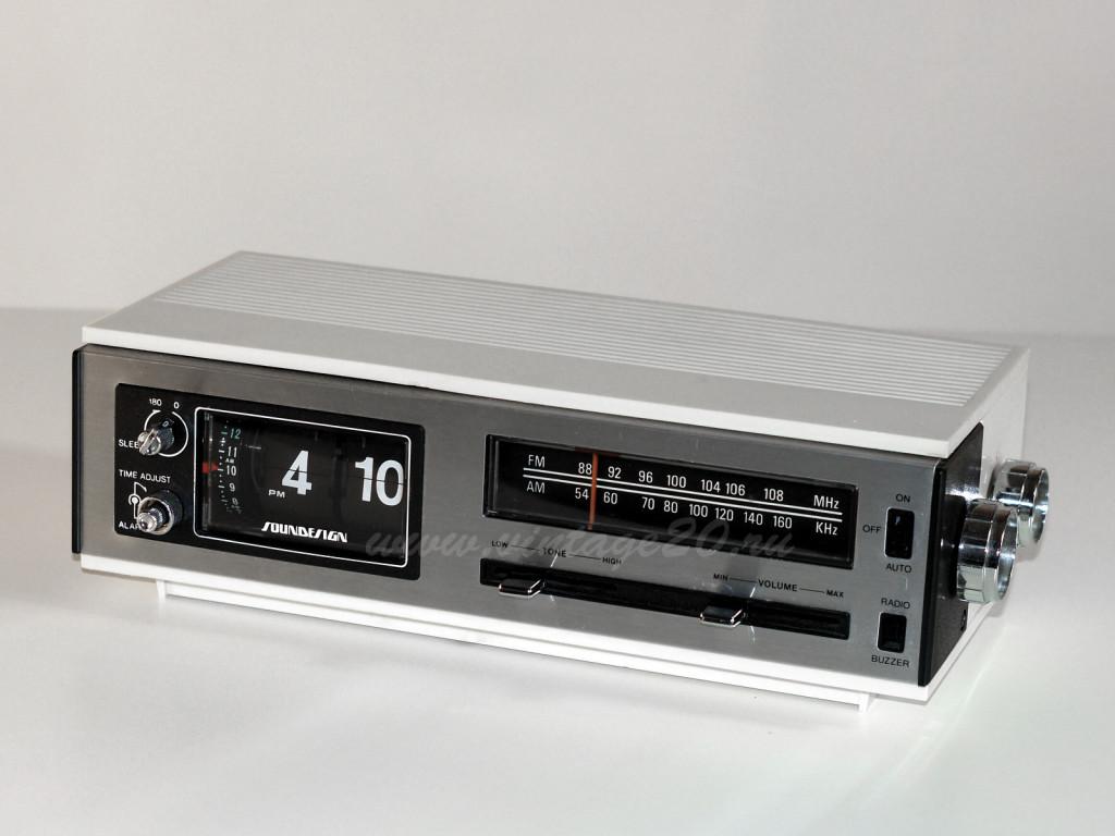 Перекидные часы flip clock — Soundesign 3462