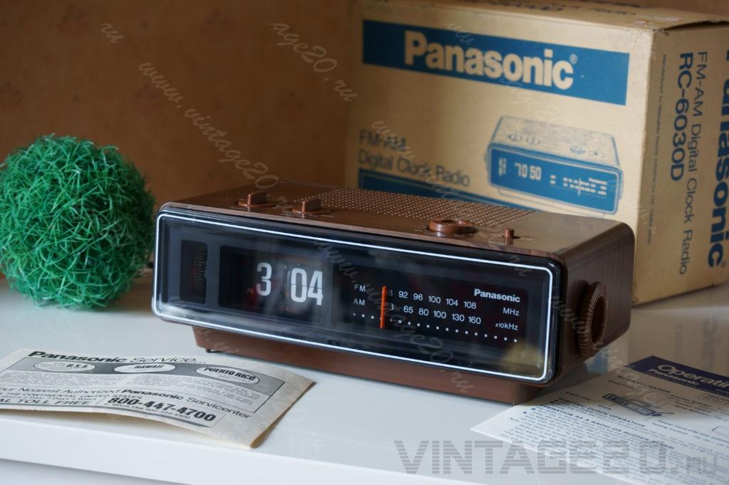 Новые перекидные часы Panasonic 45-летнего возраста
