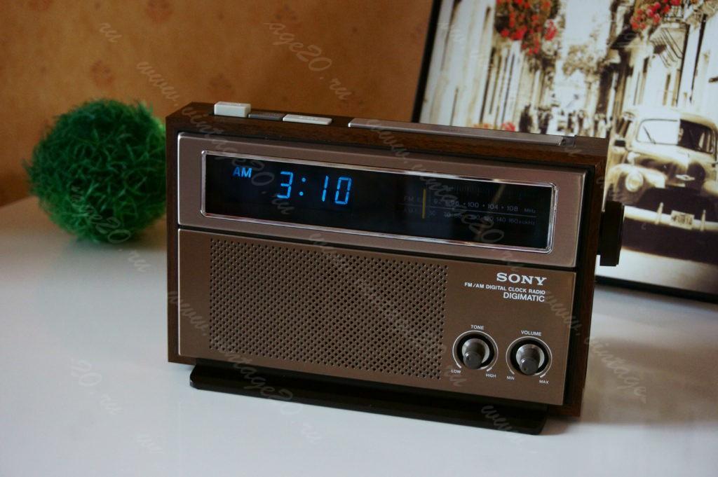Новые электронные часы Sony 1978 года