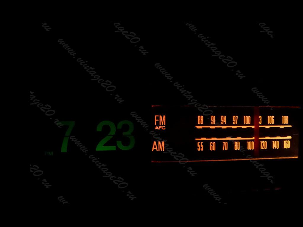 Часы перекидные GENERAL ELECTRIC с ультрафиолетовой подсветкой